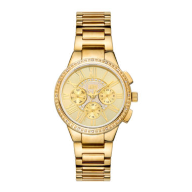 jcpenney.com | Jbw Womens Gold Tone Diamond Accent Bracelet Watchj6328e