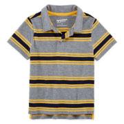 Arizona Short-Sleeve Solid Polo - Toddler Boys 2t-5t