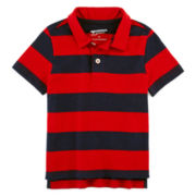 Arizona Short-Sleeve Solid Polo Shirt - Toddler Boys 2t-5t