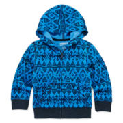 Arizona Full-Zip Fleece Hoodie -Toddler Boys 2t-5t