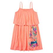 DC Comics® Sleeveless Rose Popover Dress - Girls 7-16