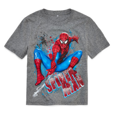 jcpenney.com | Marvel® Short-Sleeve Spider-Man Tee - Boys 8-20