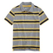 Arizona Short-Sleeve Striped Polo - Preschool Boys 4-7