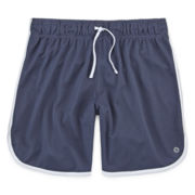 Xersion™ Long Mesh Shorts - Girls 7-16 and Plus