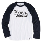 Vans Long-Sleeve Graphic Tee - Boys 8-20