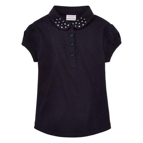 IZOD® Short-Sleeve Collar Polo - Preschool Girls 4-6x