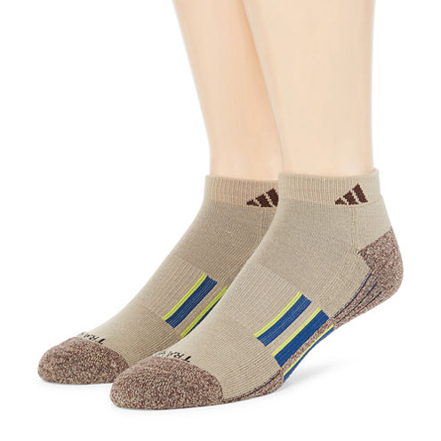 adidas® Mens 2-pk. climalite® Performance Low-Cut Socks