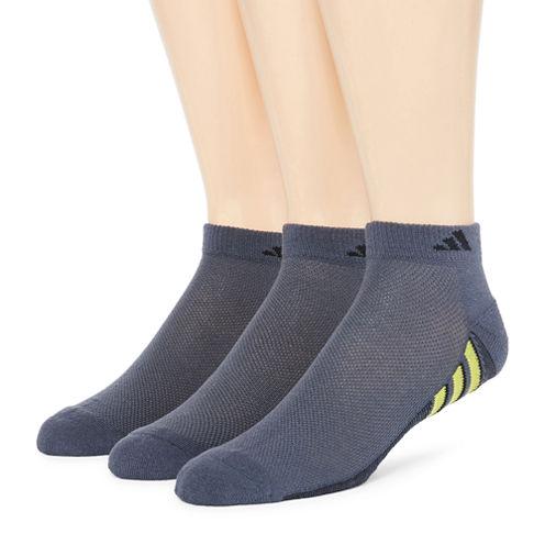 adidas® Mens 3-pk. climacool® Superlite Low-Cut Socks