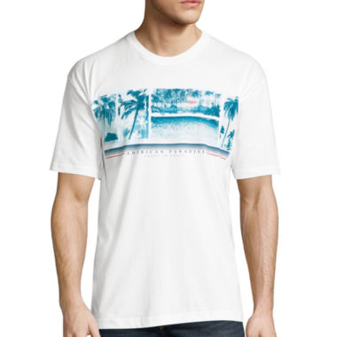jcpenney.com | No Bad Days® American Paradise Short-Sleeve Tee