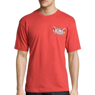 jcpenney.com | No Bad Days® Short-Sleeve Backyard King Chilling & Grilling Tee