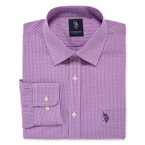 U.S. Polo Assn.® Long-Sleeve Easy-Care Broadcloth Dress Shirt