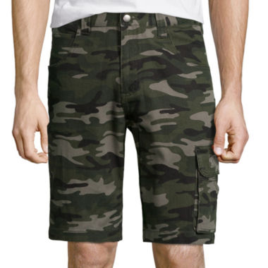 jcpenney.com | Work King® Camo Cargo Shorts