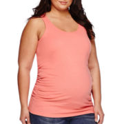 a.n.a® Maternity Racerback Tank Top - Plus