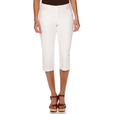 jcpenney.com | St. John's Bay® Secretly-Slender Cropped Pants