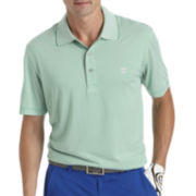 IZOD® Short-Sleeve Greenie Feeder Polo