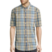 St. John's Bay® Short-Sleeve Madras Sport Shirt