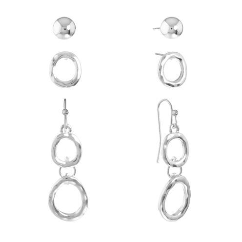 Liz Claiborne 3 Pair Earring Sets