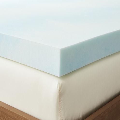 Restful Solutions Supreme 4 Inch Gel Memory Foam Topper