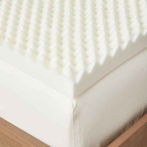 Restful Solutions Deluxe Textured 3 Inch Memory Foam Topper