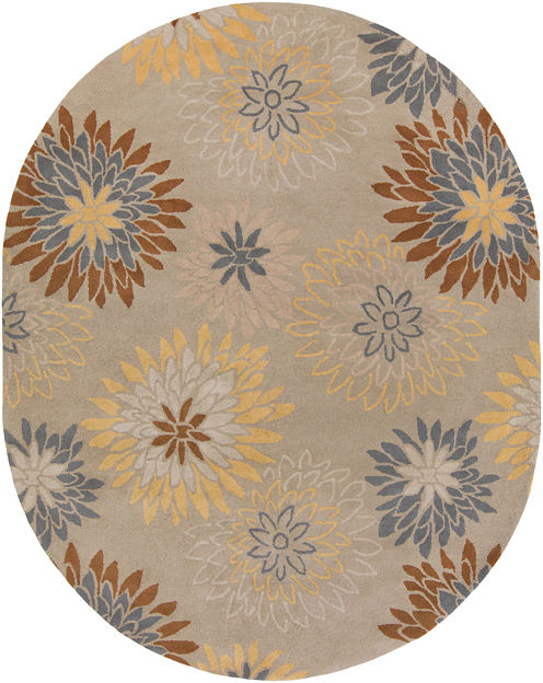 Decor 140 Ambrosia Hand Tufted Oval Rugs