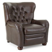 Warwick Wingback Leather Recliner