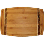"Totally Bamboo® 15"" Marbled Cutting Board"