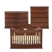 Rockland Austin 3-pc. Baby Furniture Set - Cocoa