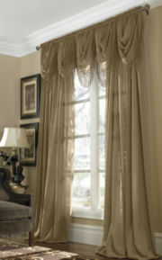 JCPenney Home™ Snow Voile Rod-Pocket Semi-Sheer Panel