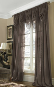 jcp home™ Snow Voile Rod-Pocket Semi-Sheer Panel