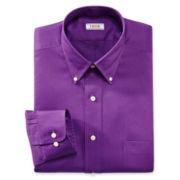 IZOD® Button–Down Twill Dress Shirt–Big & Tall