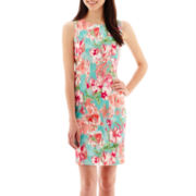Alyx® Floral Print Sheath Dress