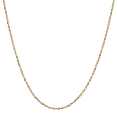 "jcpenney.com | Infinite Gold™ 14K Yellow Gold 20"" Polished Perfectina Chain Necklace"