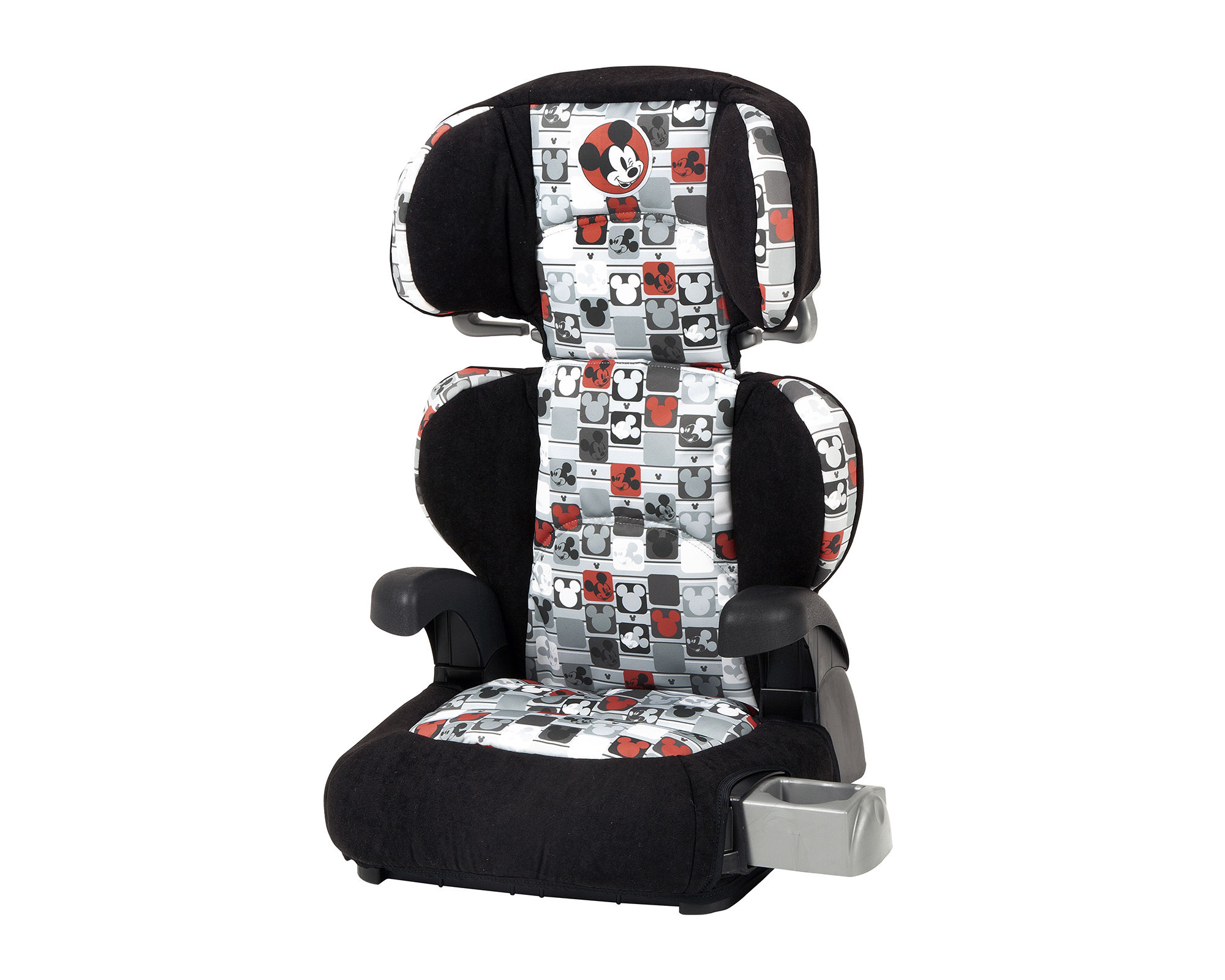 Disney Mickey Mouse Patchwork Booster Car Seat