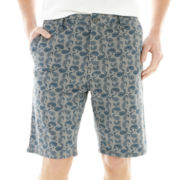 Ecko Unltd.® Flat-Front Shorts