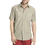 Arrow® Short-Sleeve Chambray Woven Shirt