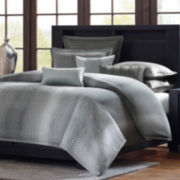 Madison Park Metropolitan Home Shagreen 3-pc. Comforter Set and Accessories