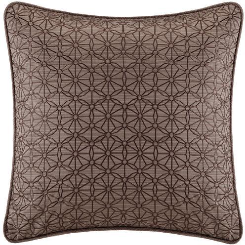 "Metropolitan Home Eclipse 18"" Square Jacquard Decorative Pillow"