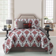 Victoria Classics Weston 5-pc. Reversible Comforter Set