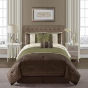 Victoria Classics Vaughn 6-pc. Pintucked Comforter Set