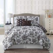 Victoria Classics Jordin 5-pc. Reversible Comforter Set
