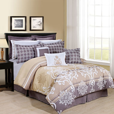 jcpenney.com | Cathay Home Tamson Complete Bedding Set with Sheets