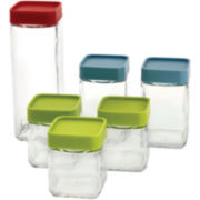 Glasslock® 12-pc. Square Block Canister Box Set