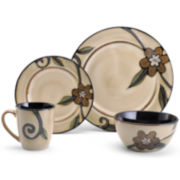 Pfaltzgraff® Everyday Trellis Gold 16-pc. Dinnerware Set