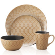 Pfaltzgraff® Everyday Vintage Lattice 16-pc. Dinnerware Set