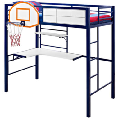 jcpenney.com | Basketball Twin Loft Bed