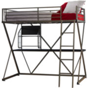 Student Twin Loft Bed