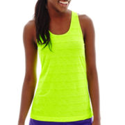 Xersion™ Burnout Striped Tank Top