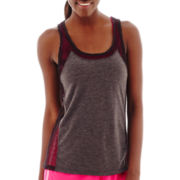 Xersion™ Mesh Mixed Media Tank Top - Tall