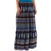 St. John's Bay® Knit Maxi Skirt