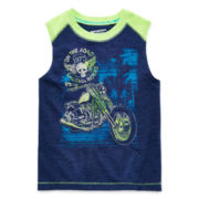Arizona Graphic Muscle Tee - Preschool Boys 4-7